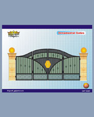 Iron Gates | Grills and StaireCase India - www.kingcraft.in