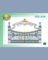 Royal Gates | Grills and StaireCase India - www.kingcraft.in