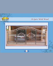 Stainless Steel Gate | Grills and StaireCase India - www.kingcraft.in