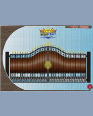 WPC Gates | Grills and StaireCase India - www.kingcraft.in