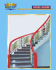 Glass Staire Case | Grills and StaireCase India - www.kingcraft.in