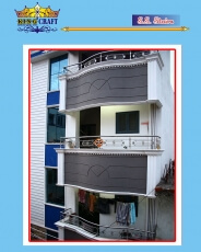 SS Balcony | Grills and StaireCase India - www.kingcraft.in