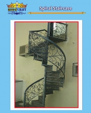Spiral Staircase | Grills and StaireCase India - www.kingcraft.in