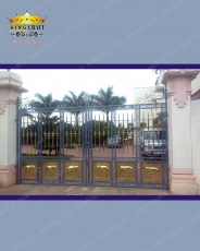 Brass Main Gate | Grills and StaireCase India - www.kingcraft.in