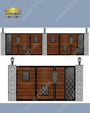 Laser Cutting Gate | Grills and StaireCase India - www.kingcraft.in