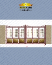 New Royal Brass Gate | Grills and StaireCase India - www.kingcraft.in