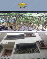 Casting Balcony | Grills and StaireCase India - www.kingcraft.in