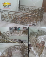 Casting Staircase | Grills and StaireCase India - www.kingcraft.in