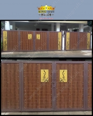 New Fundermax Gate | Grills and StaireCase India - www.kingcraft.in